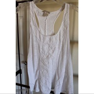 Lucky Brand Stitched Tank